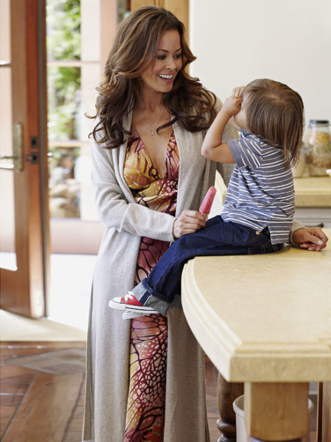 Brooke Burke With Son