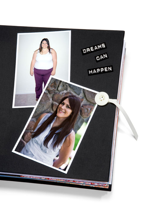 A Sbook With Before And After Real Life Healthy Weight Loss Story Pictures