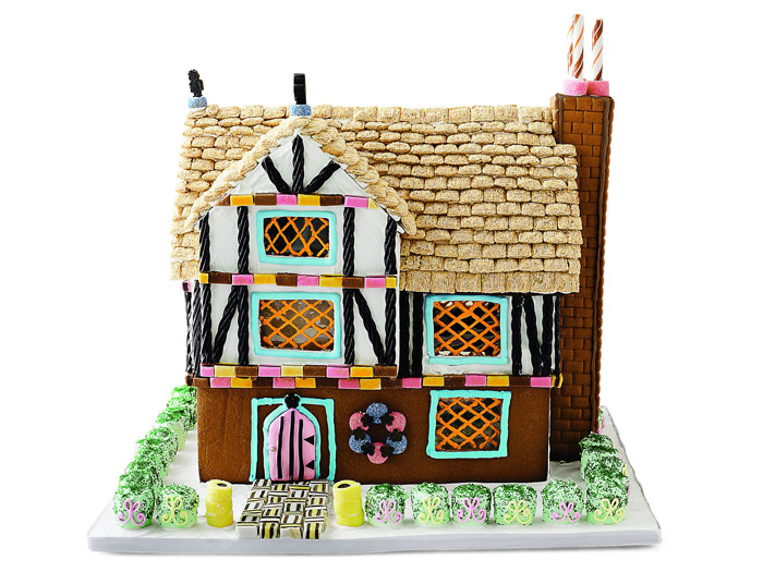 Gingerbread House Ideas - Modern Gingerbread House Designs - ^