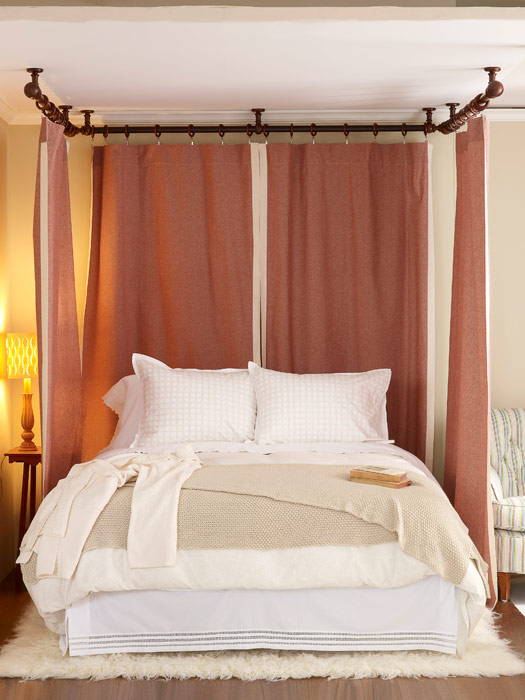 Curtains Ideas curtains made from bed sheets : Romantic Bedroom Decor - Make Your Bed Romantic With Curtain Panels
