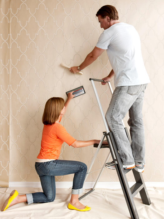 Your DIY Guide To Installing Wallpaper