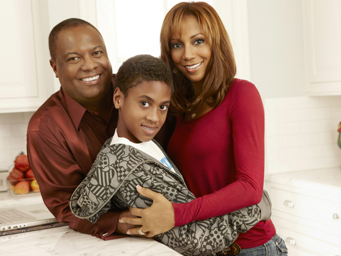 Holly Robinson Roman Peete Holly Robinson Peete And