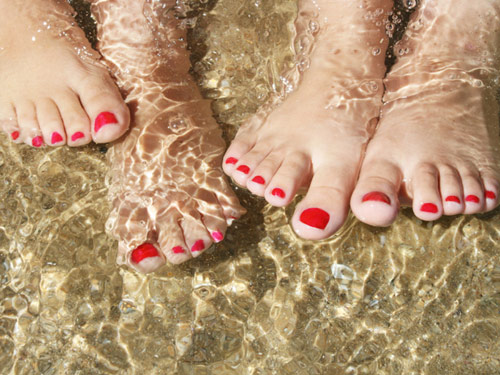 Pedicure Products How To Do An At Home Pedicure