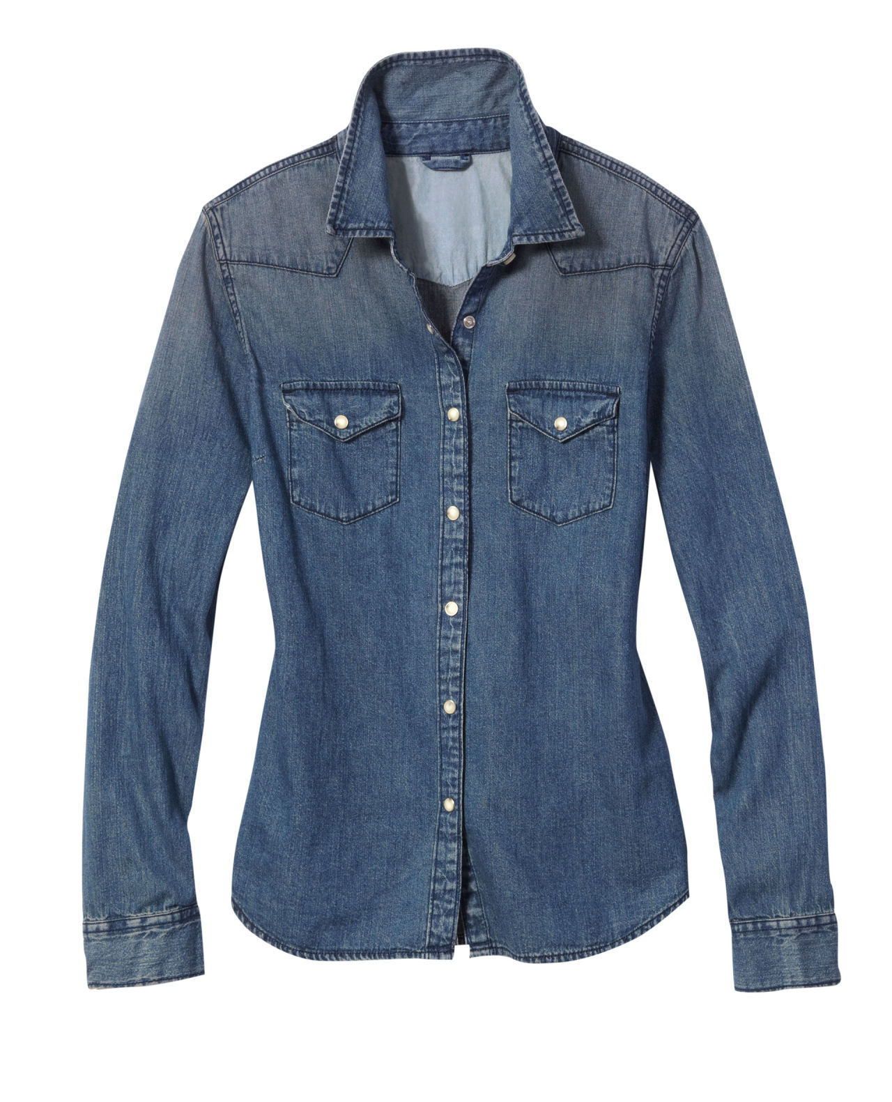 How To Wear a Denim Shirt - Outfit Ideas for Denim Shirts