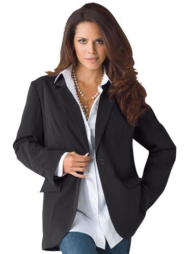 5489e459dbd04_ _boyfriend blazer denim lgn stylish classic plus size clothing fashionable plus size,Womens Clothing 50 Plus