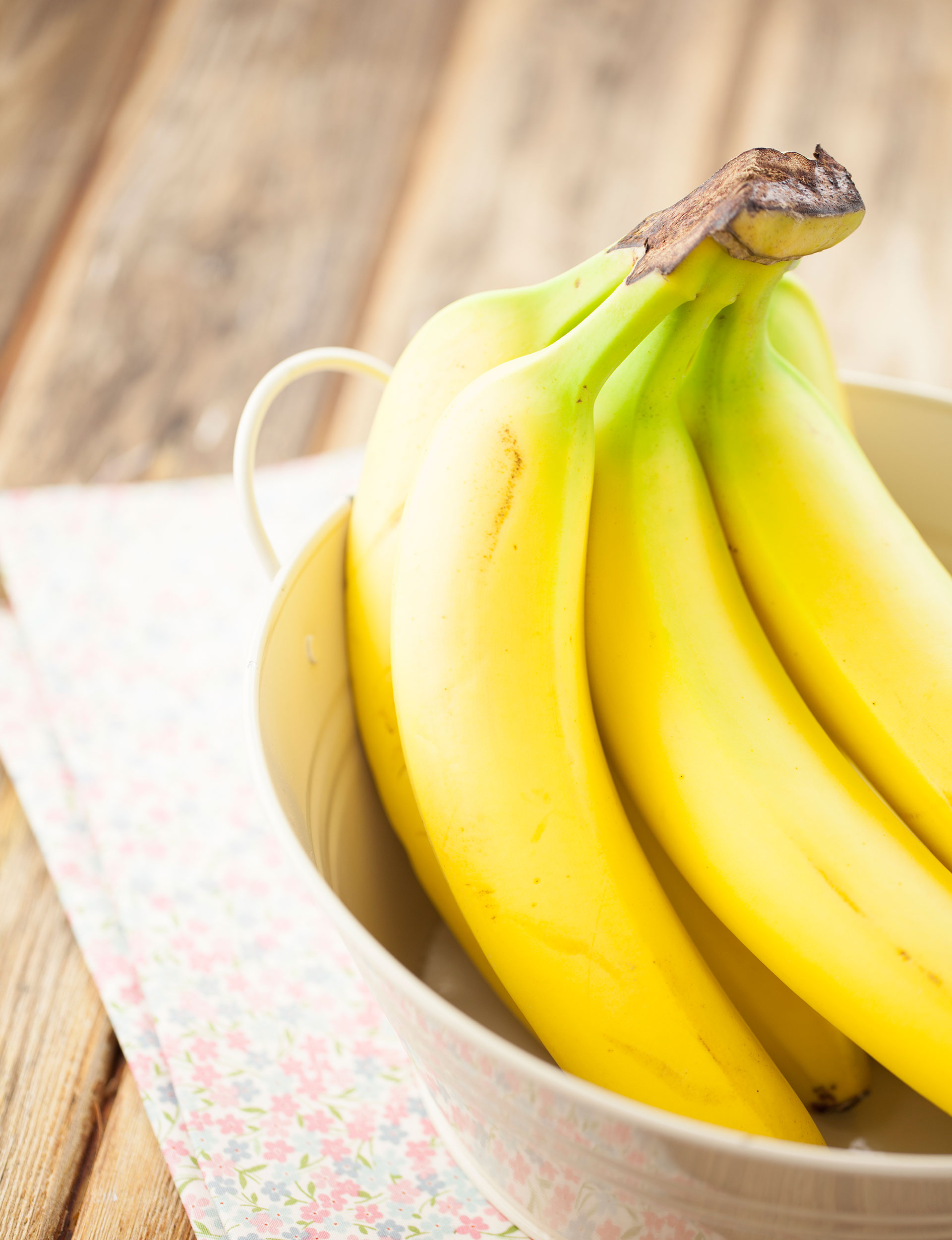 How much fat in bananas