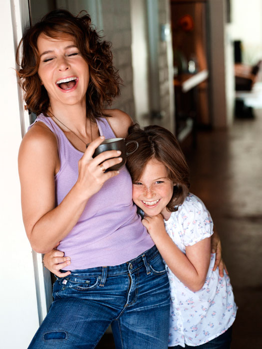 Interviewed By The Tarot: Jennifer Grey, Interviewed By Her Daughter Stella, 9