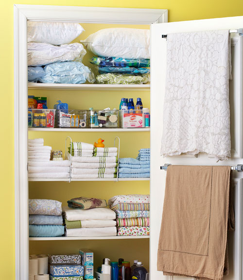 Beautiful 5 Easy Ways To Clean Up Your Linen Closet