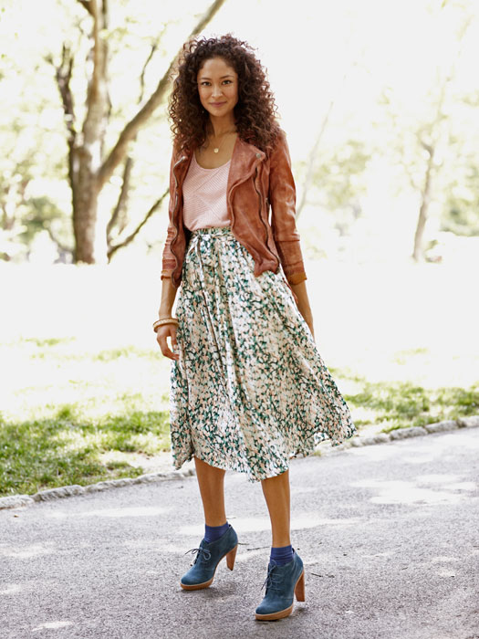 Midi Skirts - Flowy Skirts for Fall