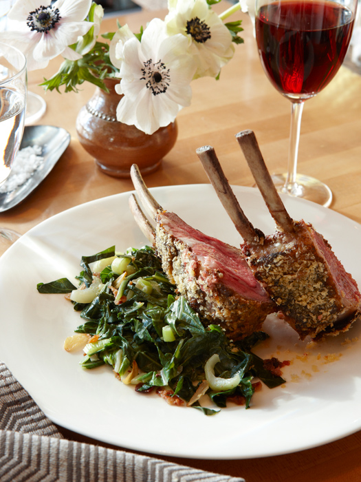 Miso Rubbed Rack Of Lamb