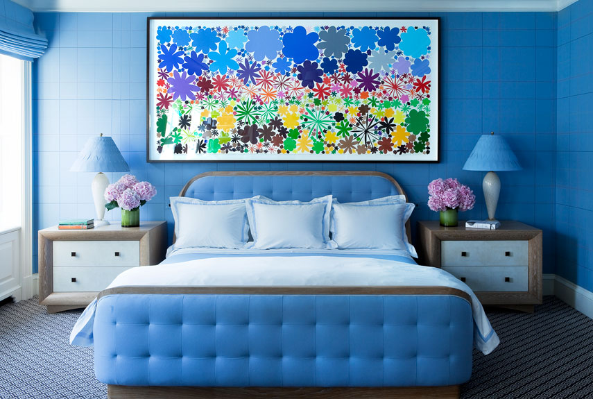 Blue Paint Accessories And Home Decor How To Decorate With Blue. Awesome Decorating A Blue Room Images   Beadsandmore us