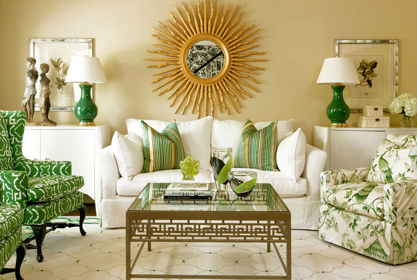 green room decor green and yellow paint accessories and home decor how to - Green House Decoration