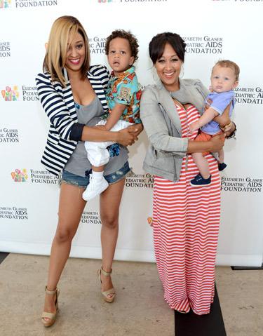 Tia & Tamera Mowry With Kids