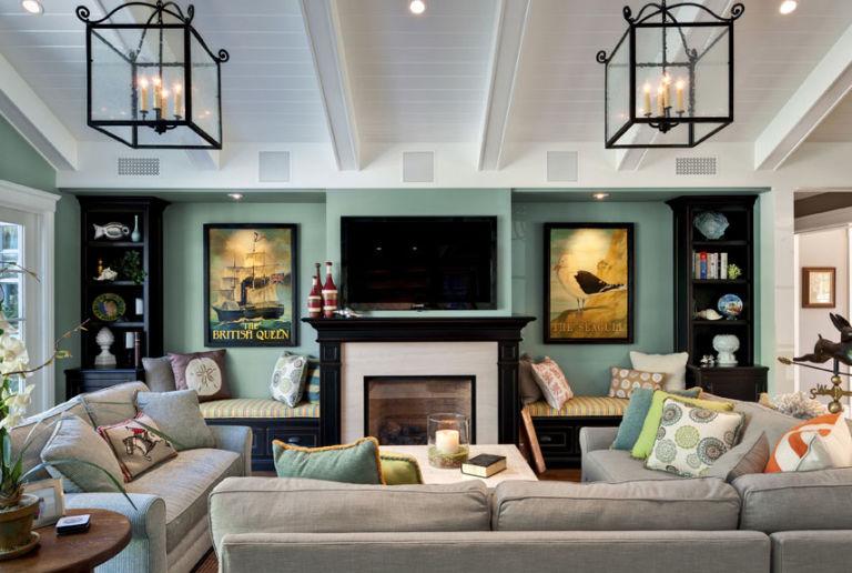 Family Room Decor - Dream Living Room Ideas