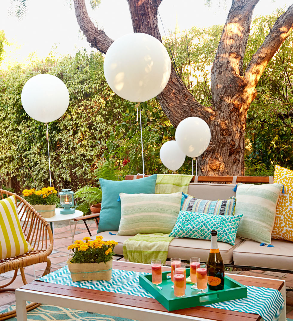Garden Design With Backyard Party Ideas And Decor Summer Entertaining Pergola From Redbookmag