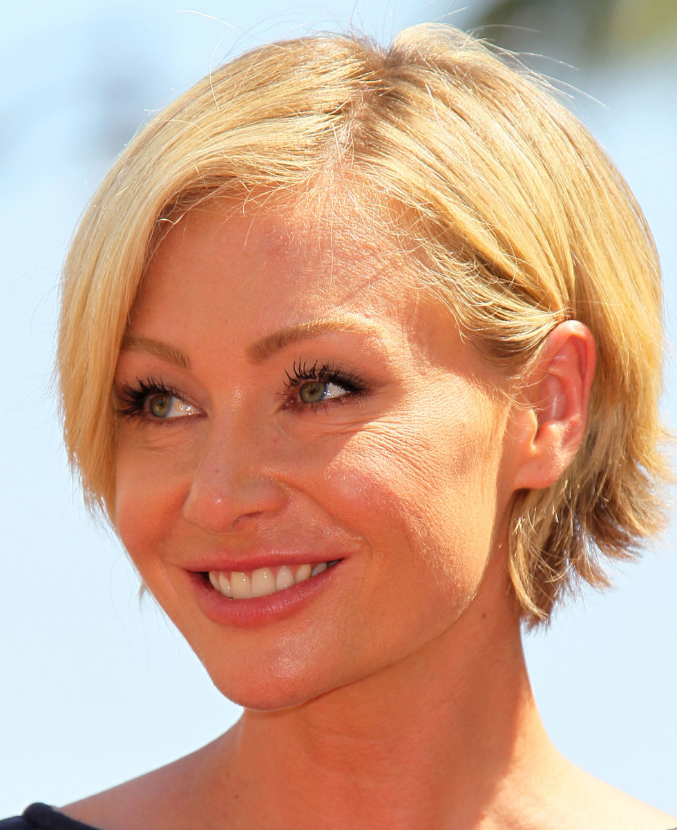Portia de Rossi short hair