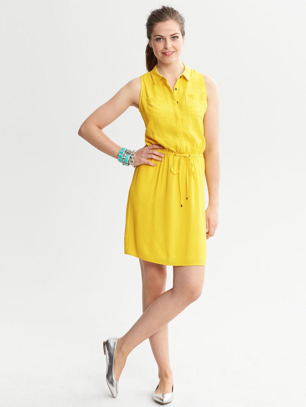 Natural Waist Dress - Flattering Summer Dresses