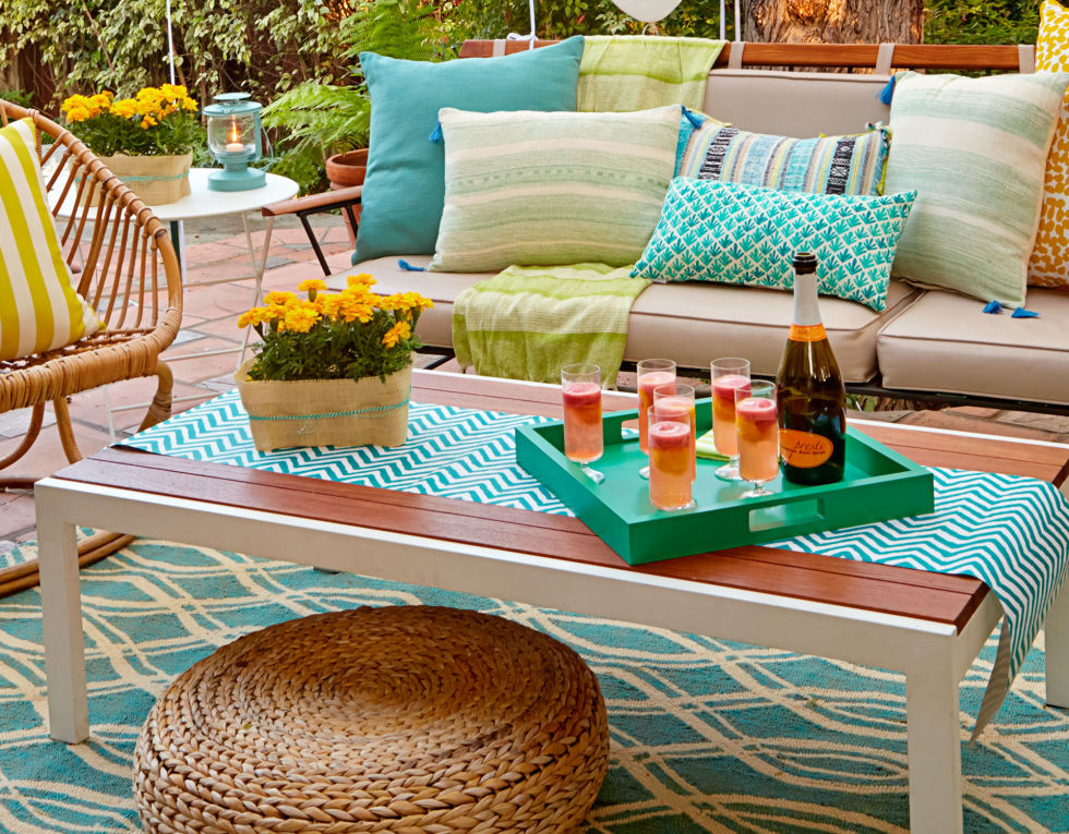 Garden Design With Backyard Party Ideas And Decor Summer Entertaining Landscaping Plans From Redbookmag
