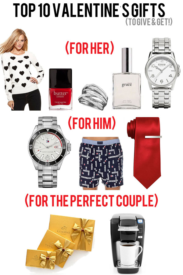 Valentine 39 s day gifts for him and her macy 39 s valentine 39 s for Great gifts for valentines day for her