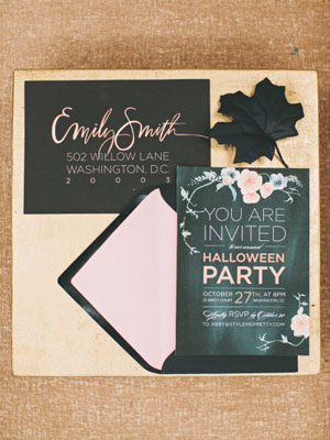 halloween party ideas from style me pretty living - Throw A Halloween Party