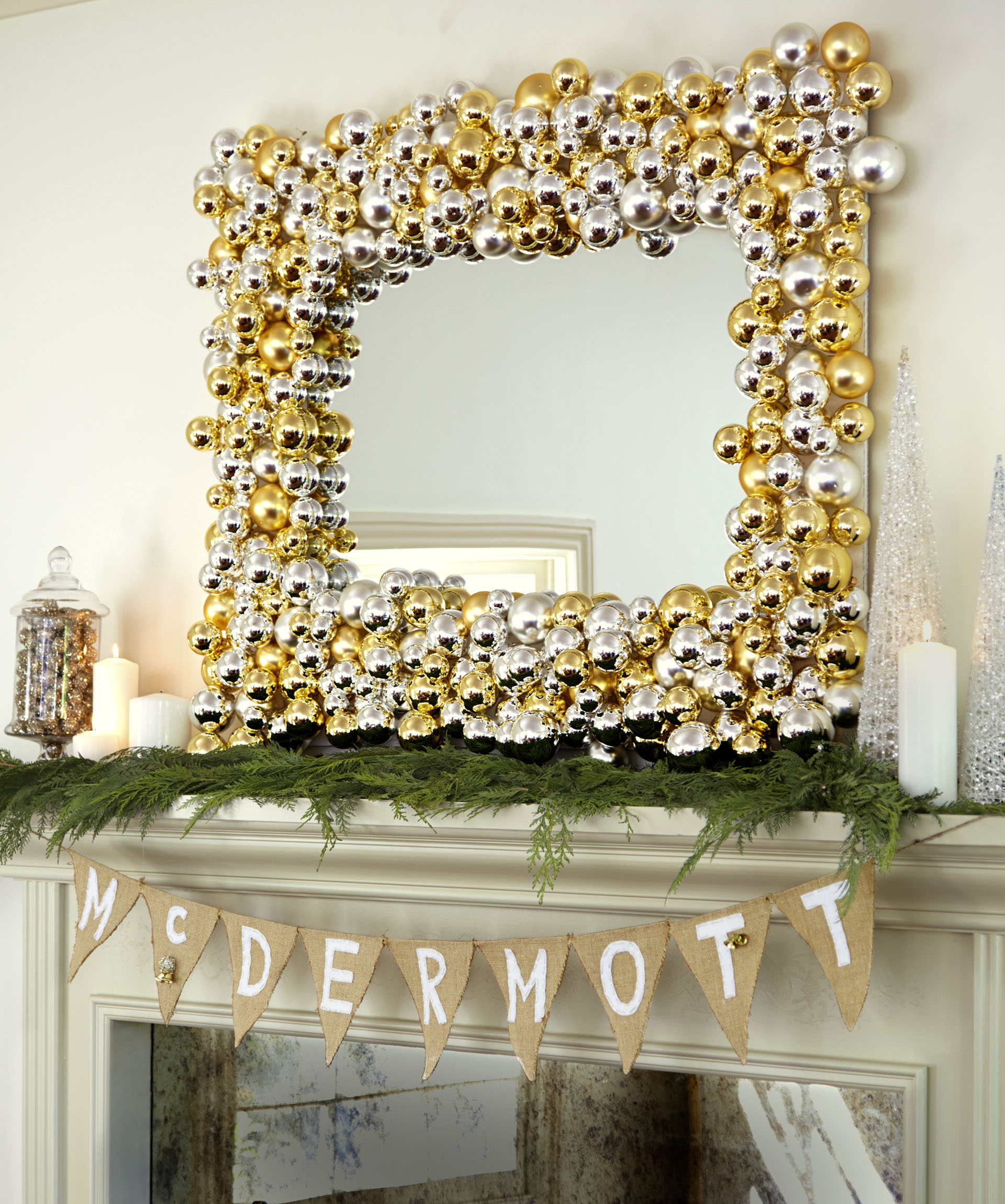 Diy holiday decor ideas from tori spelling easy diy for A christmas decoration