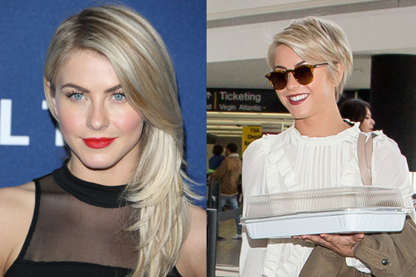 Julianne Hough Gets A Pixie Cut