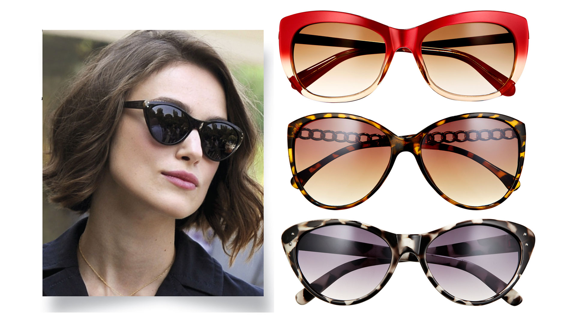 Women s Eyeglass Frames For Square Faces : Best Sunglasses For Face Shape - Sunglass Shapes That ...