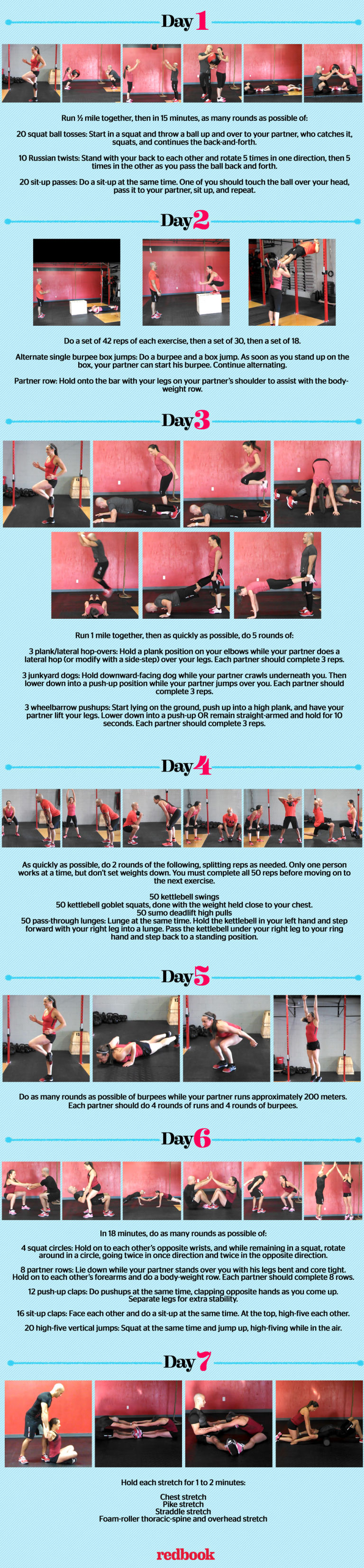 Couples CrossFit Workout Routine