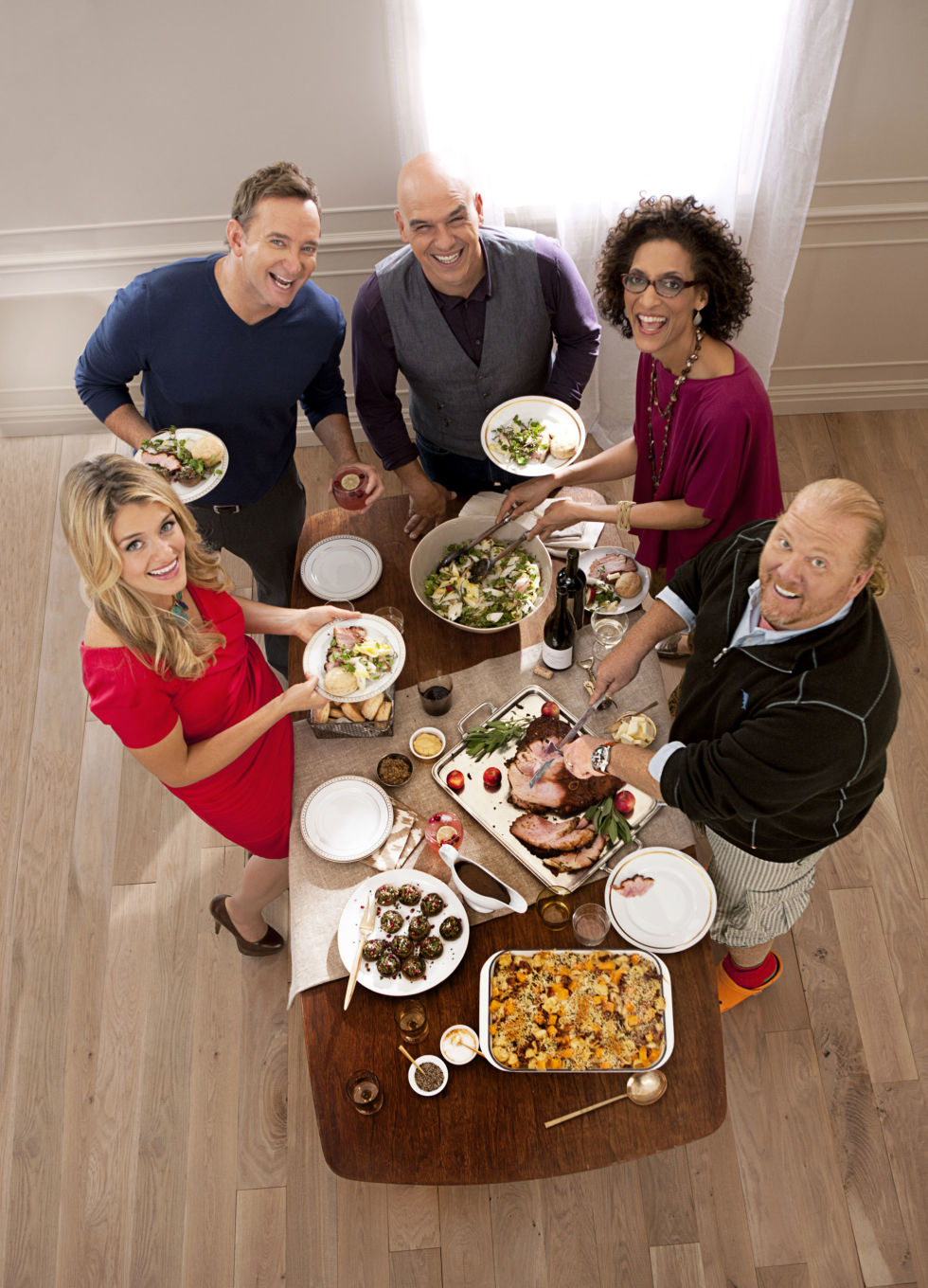The Chew Cast abc the chew holiday recipes - holiday party recipes and tips from