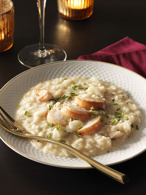 Brown-Butter Risotto with Lobster Recipe