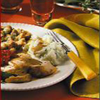 Herb- and Orange-Scented Roast Turkey and Gravy