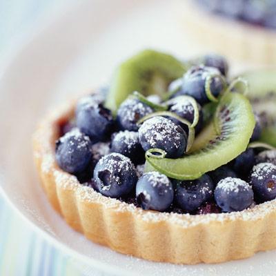 blueberry kiwi tart