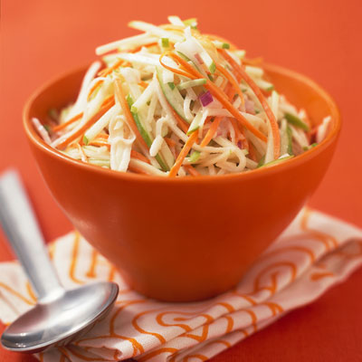 Pork Tenderloin With Apple Jicama Slaw Recipe — Dishmaps
