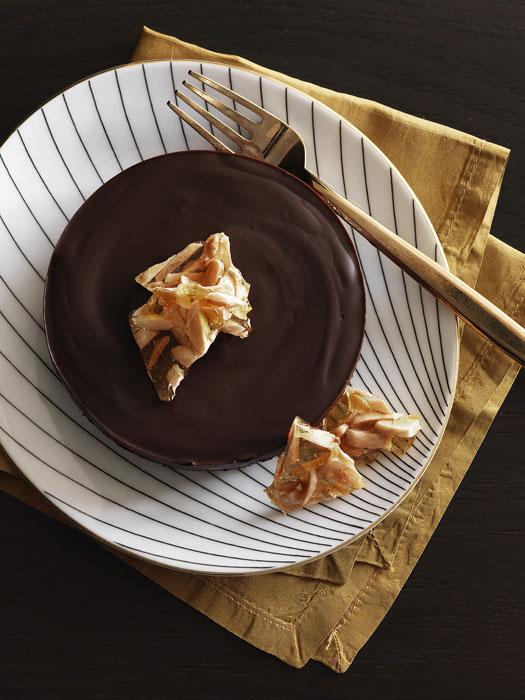 Chocolate Honey Almond Tarts Recipe