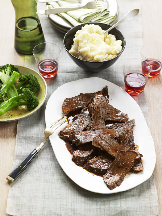 Braised Brisket with Red Wine and Rosemary Recipe