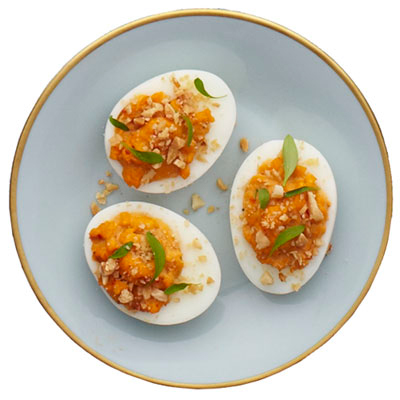 Moroccan Deviled Eggs Recipe