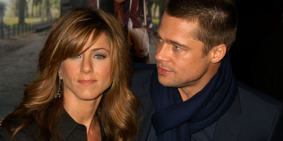 Image result for Brad Pitt and Jennifer Aniston