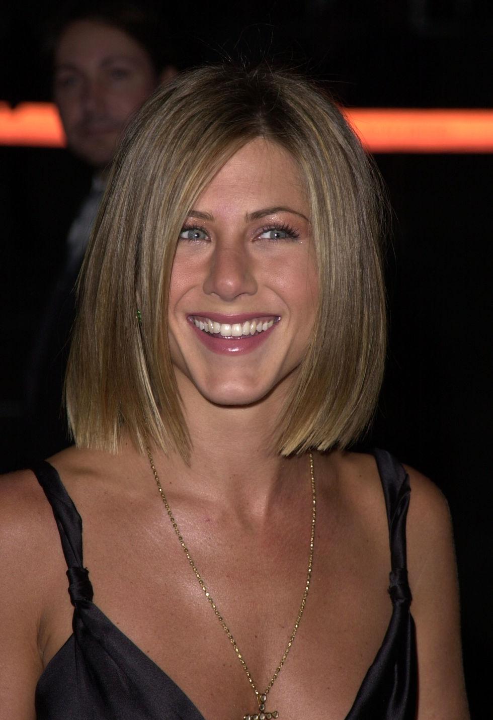 Jennifer Aniston Bob Hairstyle Fade Haircut