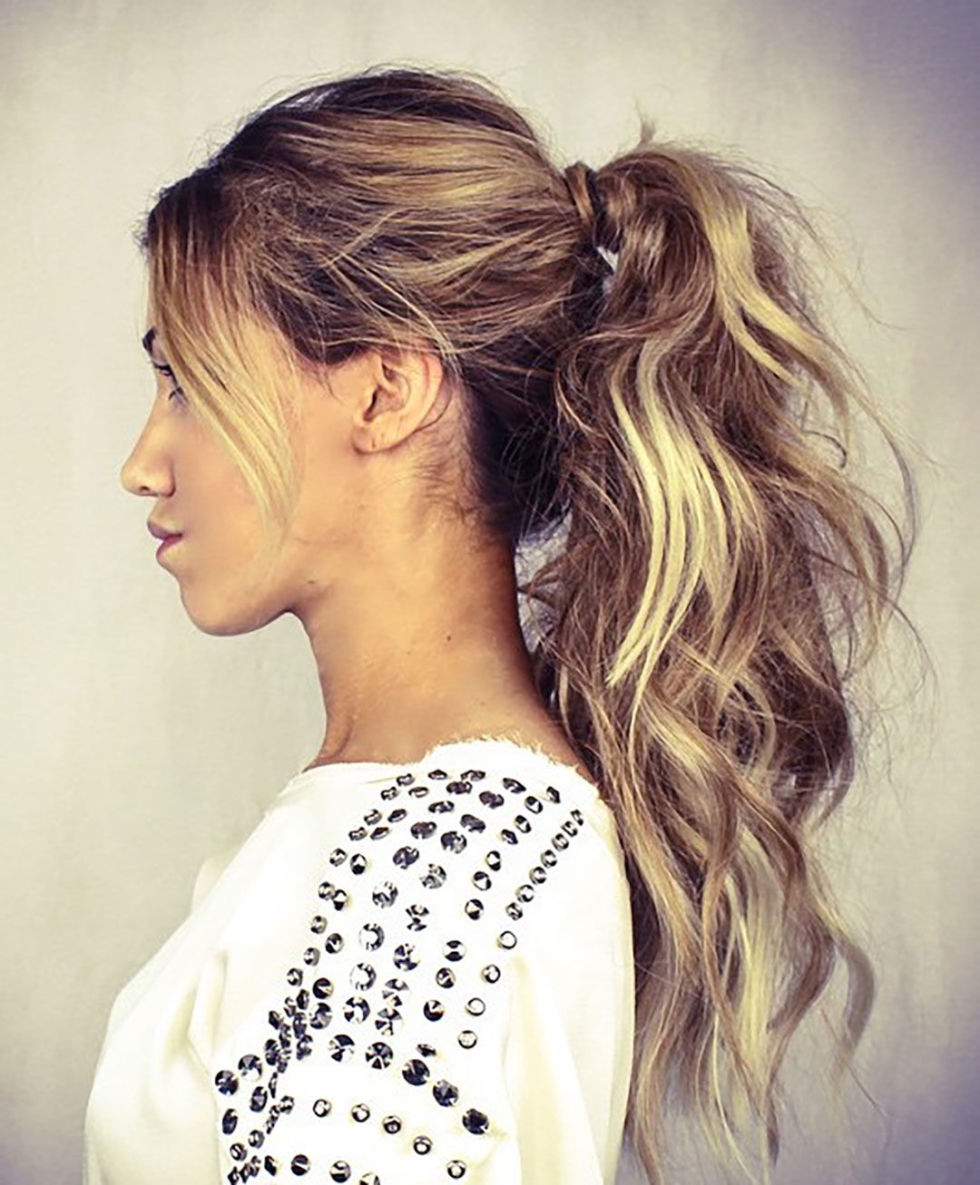 ponytail hairstyles - 5 easy ponytail looks for the work week