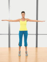 ballet workout routine  dancing with the stars workout