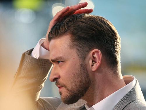 Men's Signature Hairstyles - Justin Timberlake Hairstyle