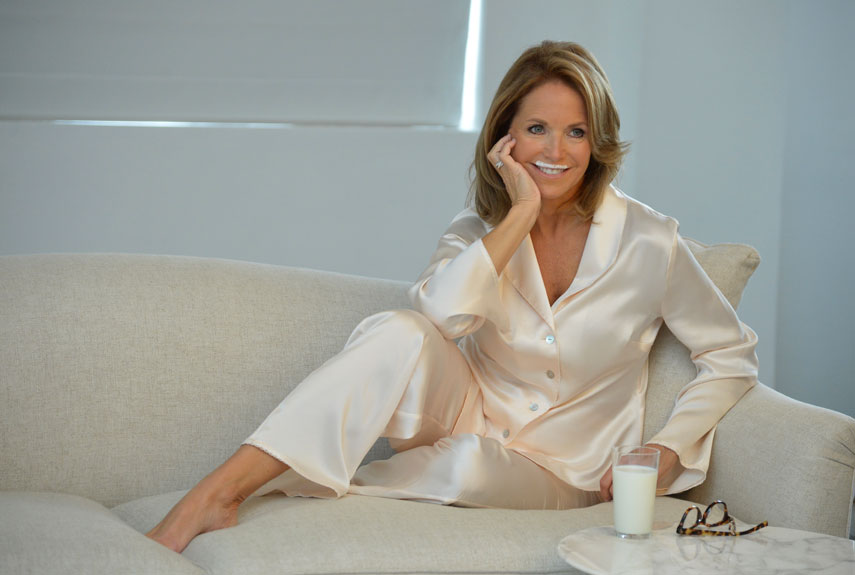 mom and child photo ideas - Katie Couric Interview Katie Couric on Aging and Work